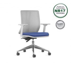 Cadeira Addit Ergonomica Cinza estrela alumínio 300x269 - Norma de Ergonomia NR 17