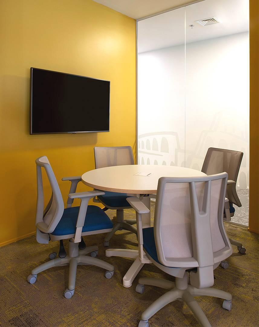 Cadeira Addit ambiente 9 - Cadeira Addit Giratória Ergonômica Cinza
