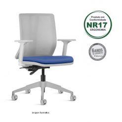 Cadeira Addit giratoria cinza base arcada 1 247x247 - Cadeira Addit Giratória Ergonômica Cinza