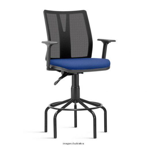 Cadeira Caixa Addit Alta azul 510x510 - Cadeira Caixa Addit Ergonômica