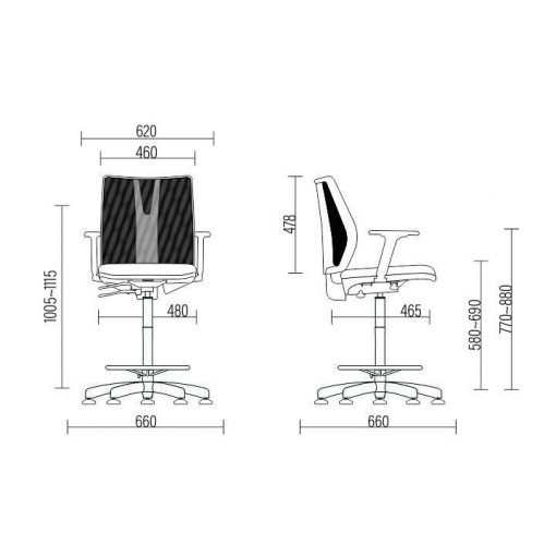 Cadeira Caixa Addit medidas 510x510 - Cadeira Caixa Addit Ergonômica
