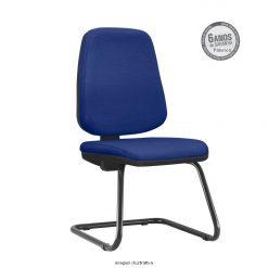 Cadeira Fixa Job Diretor Sem Bracos Azul 1 247x247 - Cadeira Job Diretor fixa sem braços