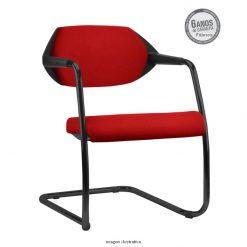 Cadeira Flex Fixa Estofada 247x247 - Cadeira fixa Flex