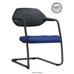Cadeira Flex Preta 247x247 - Cadeira fixa Flex