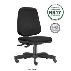 Cadeira Job giratoria diretor sem bracos 1 247x247 - Cadeira Job Diretor Giratória Ergonômica NR 17 Certificada
