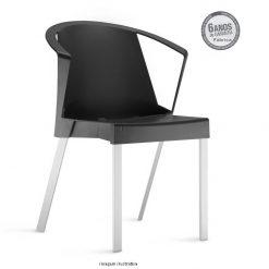 Cadeira Shine com bracos 247x247 - Cadeira fixa Shine com braços