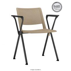Cadeira Up fixa areia com bracos 247x247 - Cadeira UP Fixa com Braços