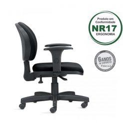 Cadeira ergonomica 323 2 1 247x247 - Cadeira 323 Executiva Giratória Ergonômica com braços