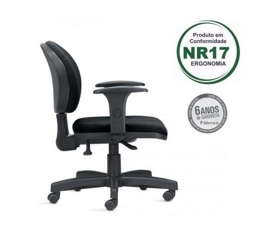 Cadeira ergonomica 323 2 1 510x461 - Cadeira 323 Executiva Giratória Ergonômica com braços