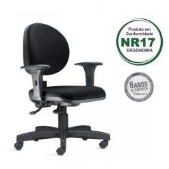 Cadeira ergonomica 323 3 247x247 - Cadeira 323 Executiva Giratória Ergonômica com braços