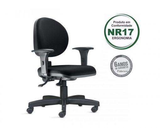 Cadeira ergonomica 323 3 510x409 - Cadeira 323 Executiva Giratória Ergonômica com braços