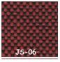 Vermelho JS 06 2 - Longarina Zip Executiva com 3 lugares sem braços
