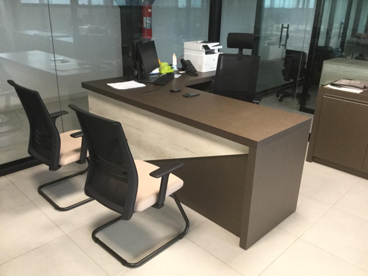 Cadeira Agile ambiente 2 - Poltrona Presidente Agile  Fixa