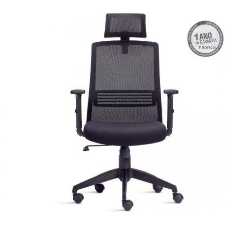 Cadeira Joy 2 510x472 - Cadeira Joy Presidente Giratória Com de Cabeça
