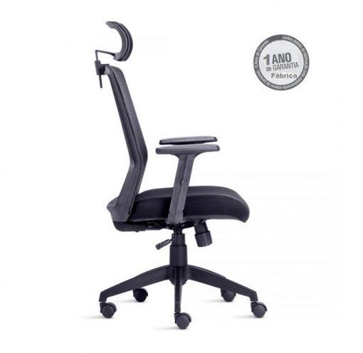 Cadeira Joy 3 510x496 - Cadeira Joy Presidente Giratória Com de Cabeça