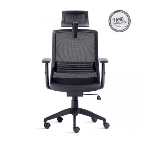 Cadeira Joy 5 510x487 - Cadeira Joy Presidente Giratória Com de Cabeça