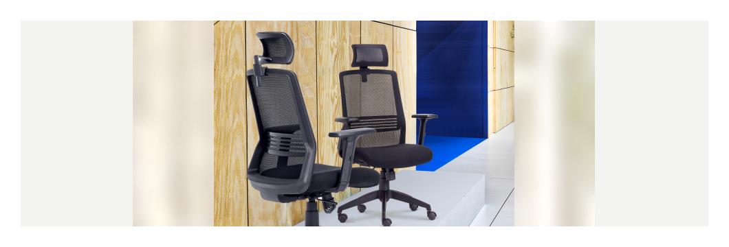 Cadeira Joy ambiente - Cadeira Joy Presidente Giratória Com de Cabeça