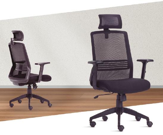 Cadeira Joy no ambiente - Cadeira Joy Presidente Giratória Com de Cabeça