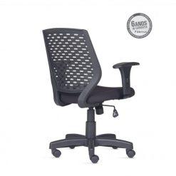 Cadeira Liss PP costas 247x247 - Cadeira Liss PP Giratória com braços
