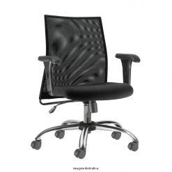 Cadeira Liss giratoria com bracos cromad 247x247 - Cadeira Diretor Liss Giratória com braços