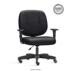 Cadeira Maxxer Class giratoria preta 247x247 - Cadeira diretor Giratória Maxxer Class para 140 quilos