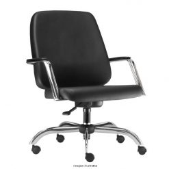 Cadeira Maxxer giratoria cromada 247x247 - Cadeira diretor Giratória Maxxer para 150 quilos estrela cromada