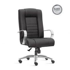 Cadeira New Onix Class presidente cromada 247x247 - Cadeira Presidente Giratória New Onix Class estrela em Alumínio