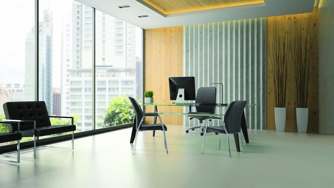 Cadeira Pointer ambiente 3 - Cadeira Pointer Premium Diretor Fixa