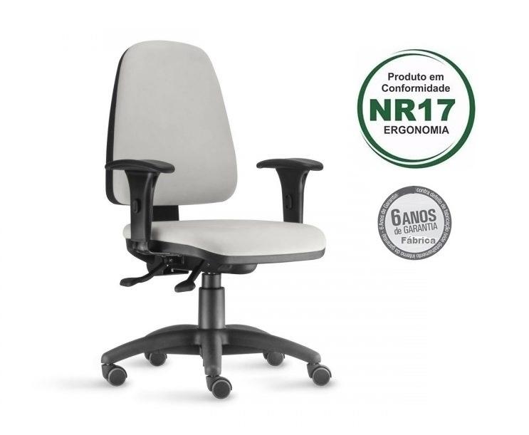 Cadeira Presidente Sky - Norma de Ergonomia NR 17