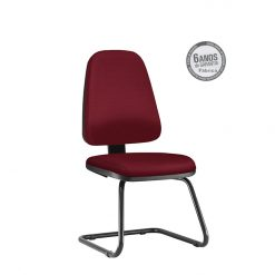 Cadeira Sky Presidente fixa sem bracos preta 247x247 - Cadeira Sky Presidente fixa sem braços