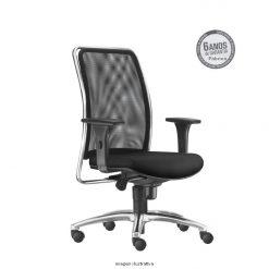 Cadeira Soul Presidente com bracos cromada sem apoio de cabeca 247x247 - Cadeira Soul Presidente Giratória