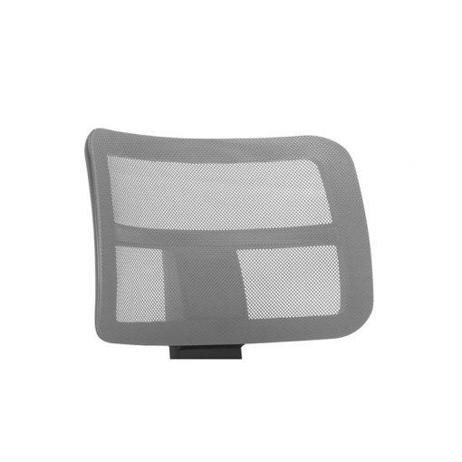 Cadeira Zip tela cinza 510x510 - Longarina Zip Executiva com 3 lugares sem braços