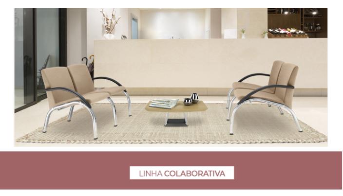 Cadeiras e Poltronas para escritorio Colaborativa 1 - Catálogos