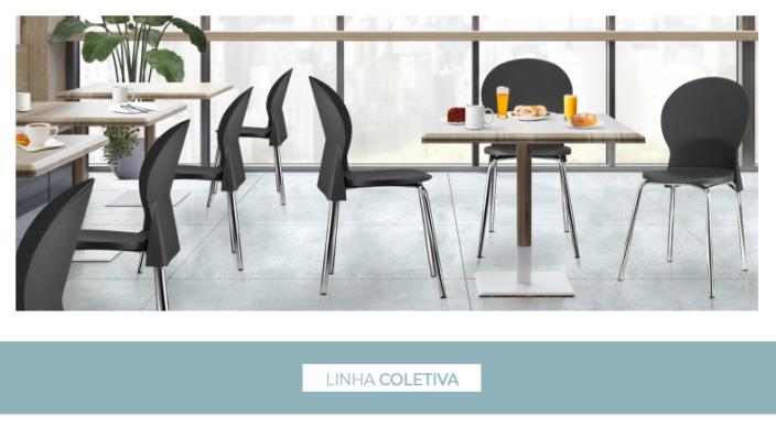 Cadeiras para uso coletivo 1 - Catálogos