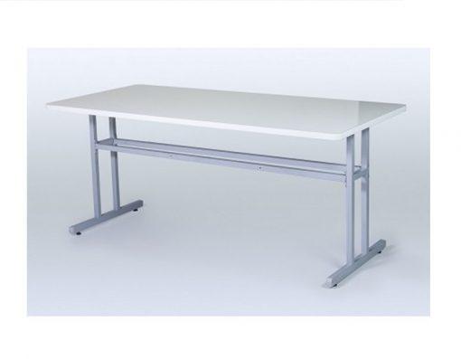Mesa para Refeitorio sem bancos pés duplos ok 510x397 - Mesa para Refeitório sem bancos com pés duplos