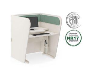 call center ergonomico lateral curva 2 300x255 - Norma de Ergonomia NR 17