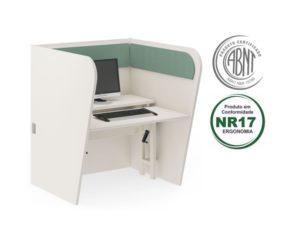 call center ergonomico lateral curva 300x244 - Norma de Ergonomia NR 17