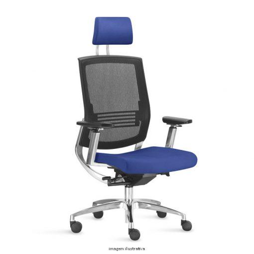 Cadeira Fit Air Sittz Azul 510x510 - Poltrona Fit Air Sittz com apoio de cabeça