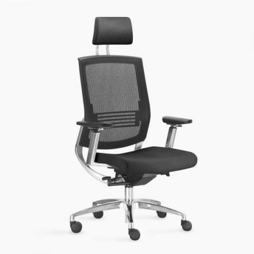 Cadeira Fit Air Sittz Preta 510x510 - Poltrona Fit Air Sittz com apoio de cabeça