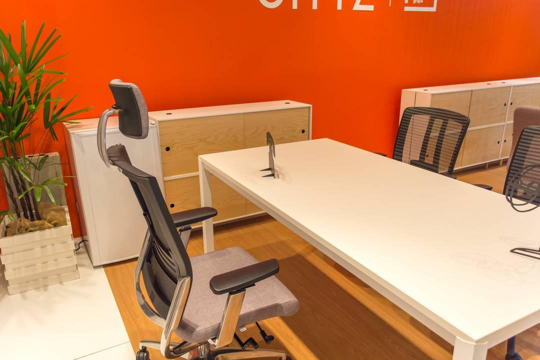 Cadeira Fit Air ambiente 3 - Poltrona Fit Air Sittz com apoio de cabeça