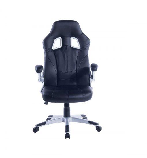 CADEIRA GAMER CS 1002 02 510x549 - Cadeira Gamer CS1005 com apoio para os pés na base